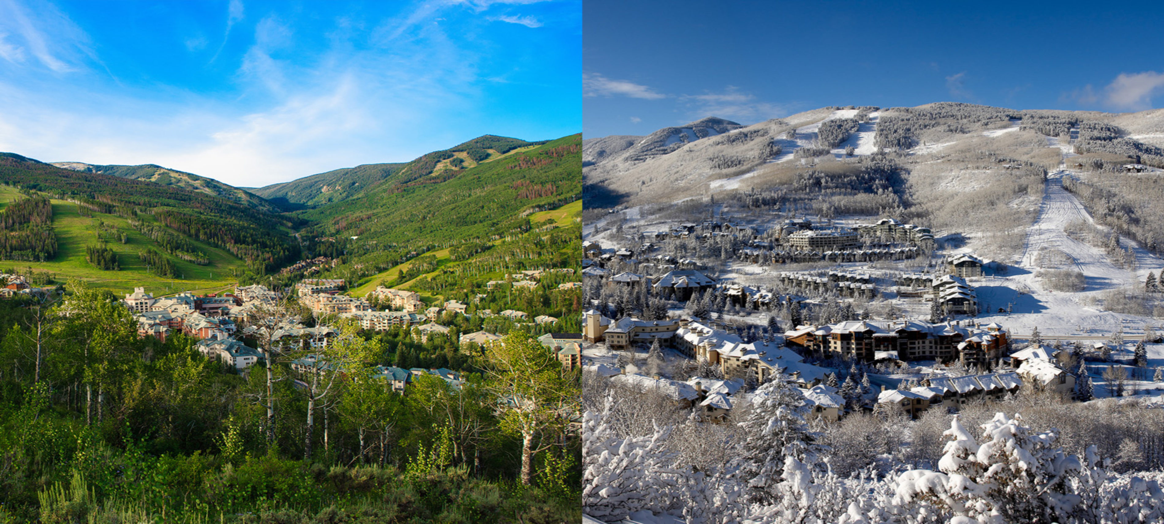 Summer & Winter in Beaver Creek